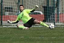 SK Hřebeč - AFK Tuchlovice 1:2 (0:0) Pen: 6:7 / KP 6.4.2019, brankář Jiří Zajíček