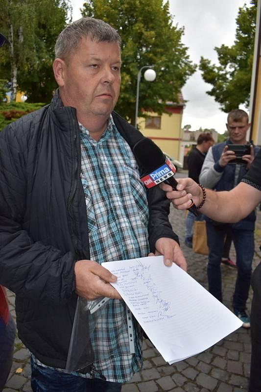 Václav Sýkora je iniciátorem petice a rodič, který testování dětí ve škole nepodporuje.