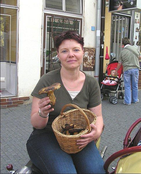 První letošní hřiby našla Iva Slováková v Kladně už 19. května