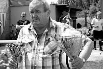 František Červenka při milovaném Lidickém poháru.