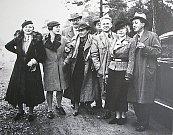 Archivní snímky Olgy Scheipflugové a jejího manžela Karla Čapka. Foto: archiv Deníku
