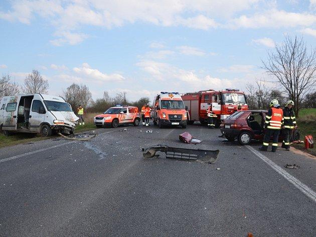 Čtvrteční smrtelná nehoda u Lotouše