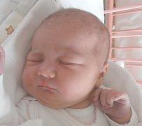 Agáta Červená, Lány. Narodila se 14. června 2016. Váha 4,06 kg, míra 53 cm. Rodiče jsou Lenka a David Červených (porodnice Slaný).