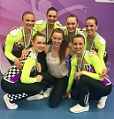 Aerobic Dancers Kladno - tým excelent