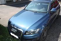 V tomto voze ujel Václav Pelc policii před zhruba čtrnácti dny.