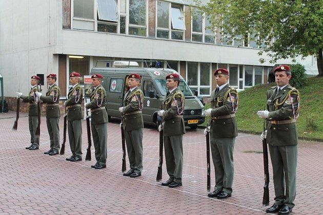 Týden s armádou ve Slaném, středa 12. září 2012
