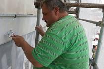 Oprava fasády