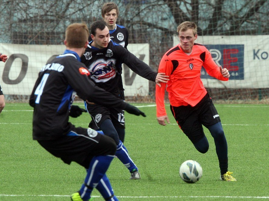 Kladno (v týmavém) nestačilo na turnaji Meteoru na Admiru Praha.