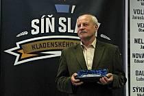 Otevření Síně slávy kladenského hokeje. Jaroslav Vinš