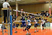 Volejbalisté Kladna postoupili do semifinále Českého poháru, ale proti Ústí rozhodli až při zlatém setu.