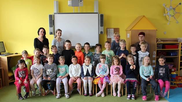 Předškoláci zlánské mateřské školy pod vedením učitelek Jany Slavíkové, Barbory Rovné, Ivy Suchopárkové a Evy Jarošové.