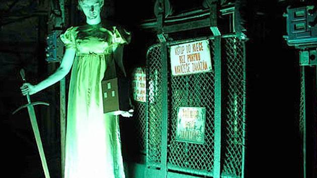 Loňská muzejní noc ve skanzenu.
