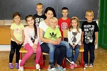 První třída pod vedením Jitky Petřinové.