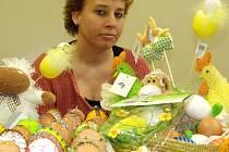 Velikonoční trhy v ZŠ v ulici Zd. Petříka v Kladně.