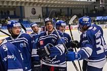 Pátý zápas série ovládlo Kladno - doma přehrálo Ústí 6:3.