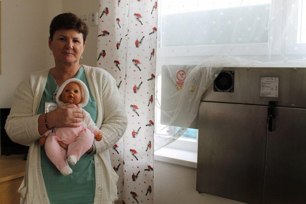 Díky mecenášům mají ve Slaném babybox nové generace.