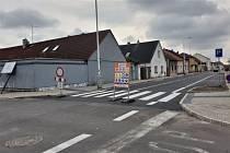 Doberskou ulici zkolaudují ve čtvrtek.