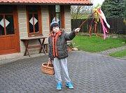 Velikonoční pomlázka v Tuchlovicích