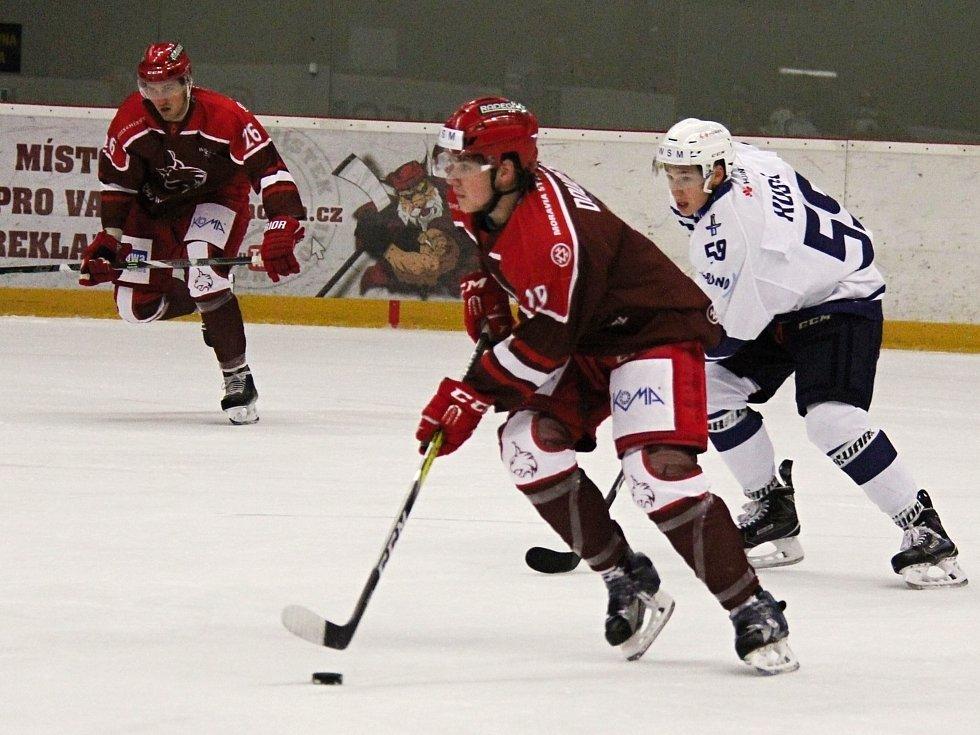 Frýdek-Místek hostil poprvé v historii hokejové Kladno.