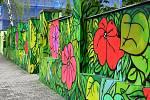 Street art v ulicích Kladna.