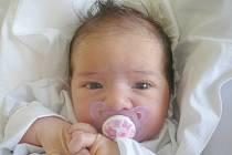 Lucie Matejová, Kladno. Narodila se 8. prosince 2014. Váha 3,88 kg, míra 51 cm. Rodiče jsou Tereza Kroupová a Milan Matej (porodnice Kladno).