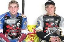 Michal Dudek a Roman Čejka (vpravo).
