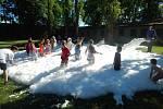Zámecká zahrada ve Smečně ožila sportovními hrami.