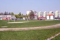 Na hřišti u 12. ZŠ vznikne mimo jiné asfaltová dráha pro in-line bruslaře.