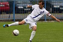 Kapitán SK Kladno Jan Procházka //  SK Kladno - Banik Sokolov3:3 (2:0)  , utkání 29.k. 2. ligy 2010/11, hráno 4.6.2011