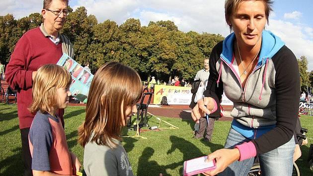 Atletika pro děti Kladno 23.9.2011