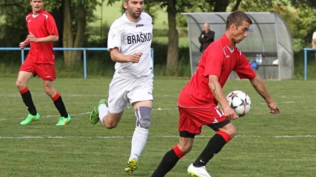 Sokol Braškov - SK Doksy 1:2, I. B. tř.sk.A, 17. 5. 2015