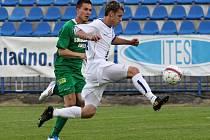 Marek Toth nedokázal úniky přetavit na branku, chyběly zkušenosti a chladná hlava //  SK Kladno - Banik Sokolov3:3 (2:0)  , utkání 29.k. 2. ligy 2010/11, hráno 4.6.2011