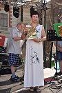 V rámci pivního festivalu ve Slaném byl i program věnovaný 100. výročí vzniku továrny Palaba.