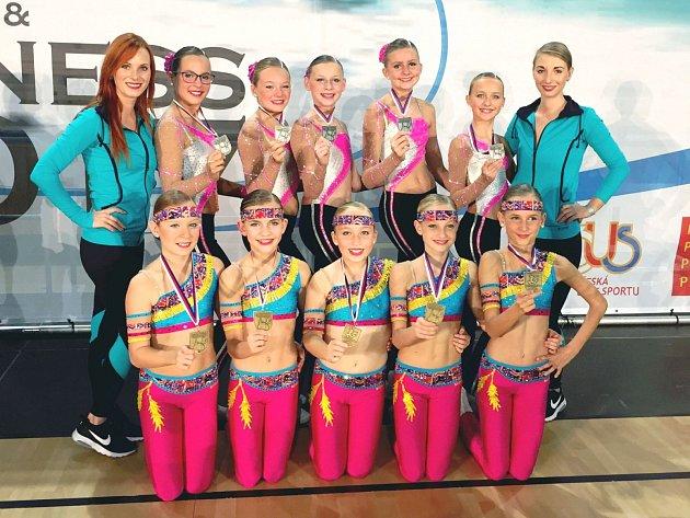 Republikový šampionát v aerobiku - Plzeň 2017. Sport Academy