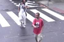 Pachatele zachytila bezpečnostní kamera.