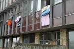 Ubytovna v Americké ulici v Kladně.