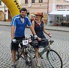 V rámci Rakovnického cyklování 2017 se na startu představili také zástupci Kladenského deníku.