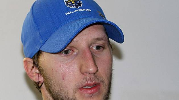 Jan Piskáček // HC Rytíři Kladno - Vítkovice 3:4 sn, O2  ELH 2011/12, hráno 29.1.2012
