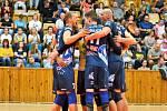 volejbalisté Kladna na úvod sezony porazili doma Ústí nad Labem jasně 3:0.