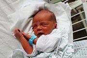 Alex Hlaváček, Kladno. Narodil se 7. dubna 2017. Váha 2,9 kg, míra 49 cm. Rodičem je Lucie Hlaváčková. (porodnice Kladno).
