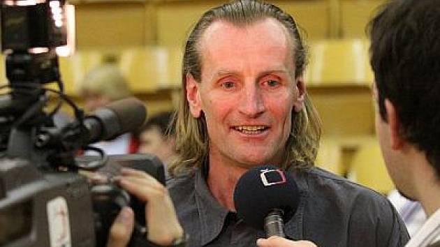 Volejbalový trenér Jindřich Licek.