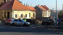Tragická nehoda se stala ve Slaném ve středu hodinu před polednem.