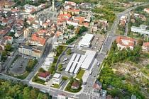 Studie autobusového nádraží v Kladně vytvořená předchozím vedením města.