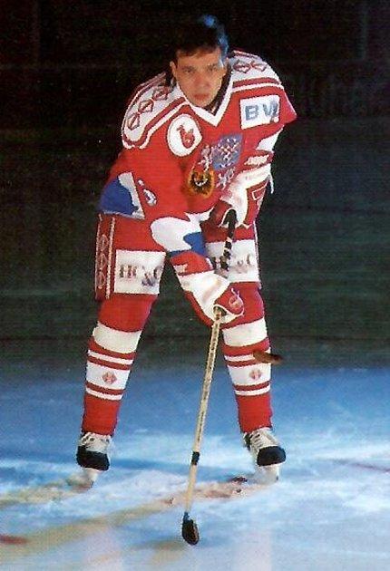 Drahomír Kadlec před olympiádou vLillehameru 1994.