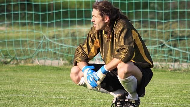 Jindřich Kohout hájil branku Lidic / Sokol Lidice - Sokol Klecany 1:2 (0:1), I.B.tř. KP, sk. B, hráno 22.5.2010