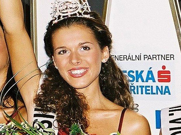 Miss aerobic ČR 2003 Jaroslava Dudková.