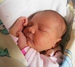 KATEŘINA ŠUBRTOVÁ, HŘIVČICE. Narodila se 9. května.. Váha 3,56 kg, míra 50 cm. Rodiče jsou Jana a Jan Šubrtovi (porodnice Slaný)