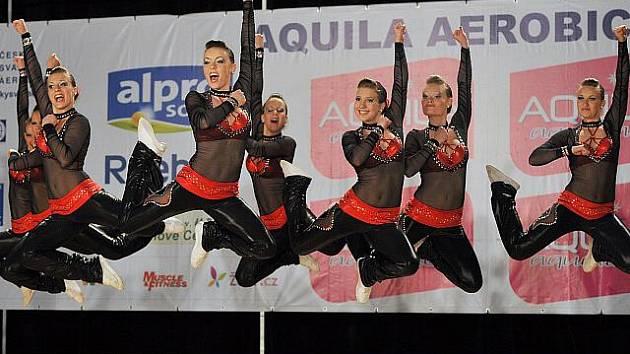 Aerobik klub Dancers Kladno, jeden z favoritů ME