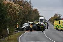 Nehoda ve Smečně.