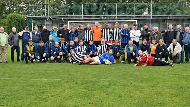 Lidice oslavily 50. let od obnovení fotbalového klubu v obci